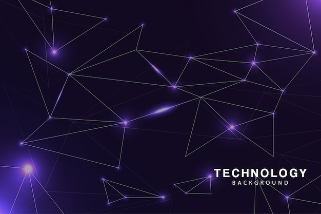 Purple tech background awesome