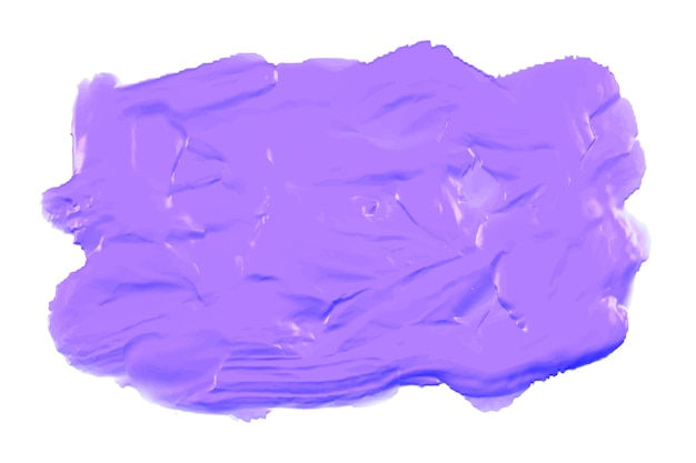 Purple thick acrylic watercolor paint