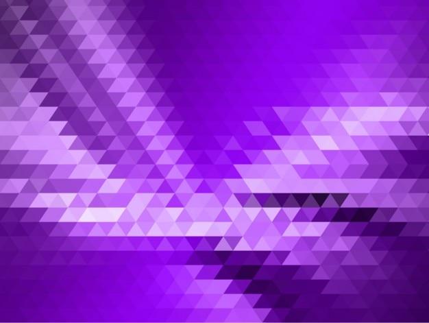 紫色の三角形の背景