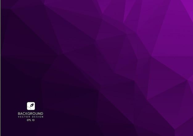 Фиолетовый фиолетовый абстрактный геометрический фон