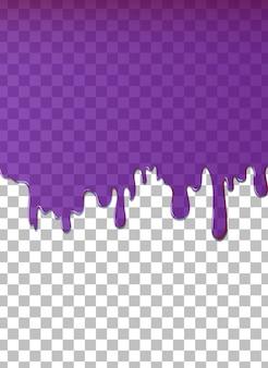 Purple water dripping background
