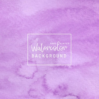 Purple watercolor abstract  background