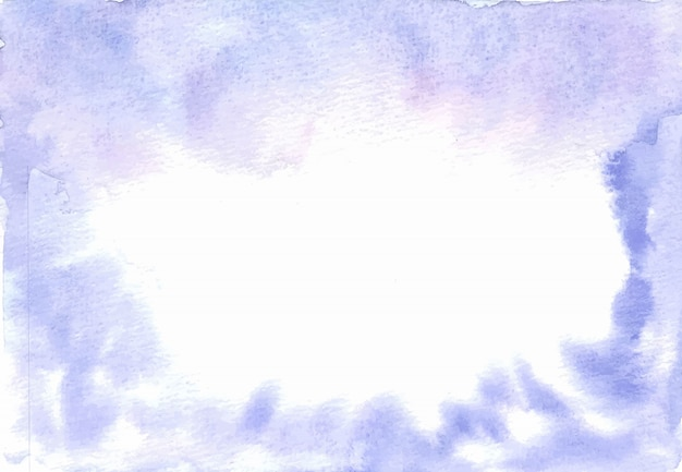 Purple watercolor abstract texture background