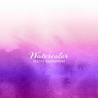 Purple watercolor background design