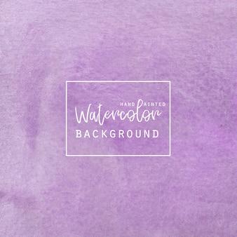 Фиолетовый акварельный фон