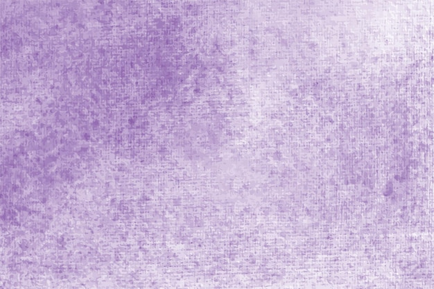 Purple watercolor pastel background hand painted aquarelle colorful stains on paper