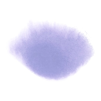 紫の水彩風バナーベクトル
