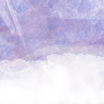 Purple watercolor with white space for text
