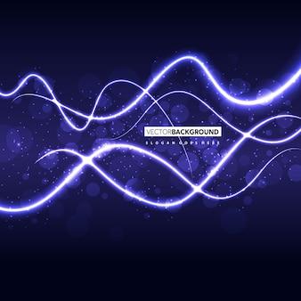 紫色の波状の抽象的な背景