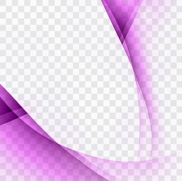보라색 물결 모양 배경 템플릿