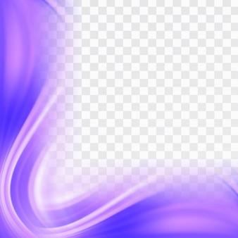 Purple wavy shapes