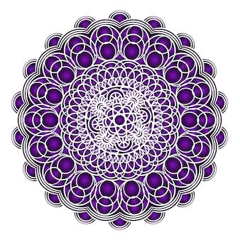 Purple wedding card background