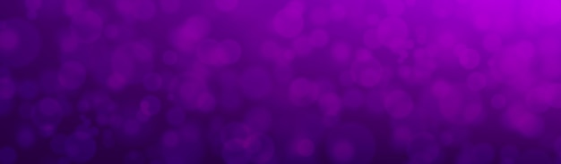 Purple  with bokeh effect for banner .  illustration.