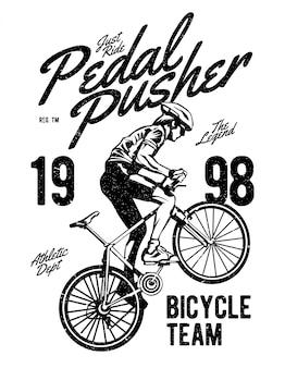 Педаль pusher