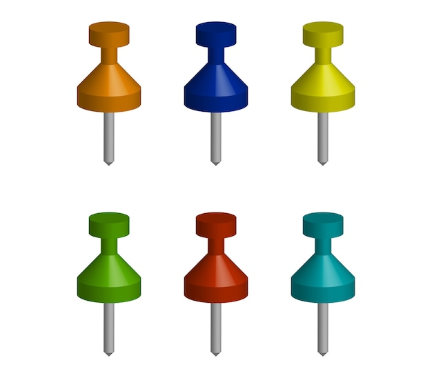 Pushpin set