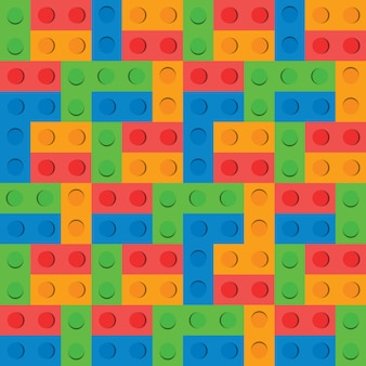 Puzzle block background pattern