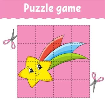 Игра-головоломка для детей, развивающая таблица