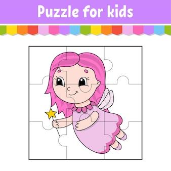 Игра-головоломка для детей. пазлы.