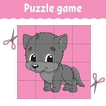 Puzzle game for kids .