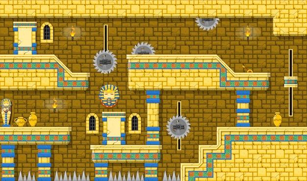 Pyramid game tileset