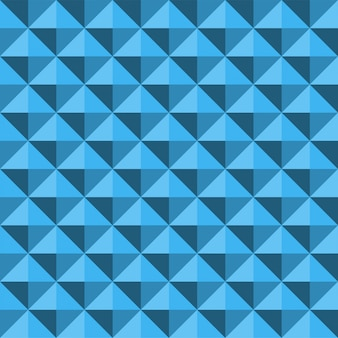 Pyramid relief seamless texture abstract blue pattern