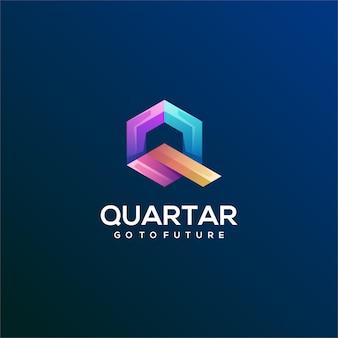 Q文字ロゴ