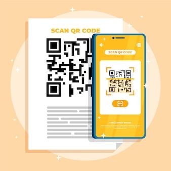 Сканирование qr-кода смартфоном