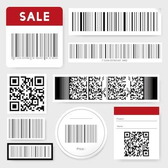 Коллекция штрих-кодов и qr-кодов