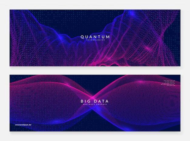 Quantum innovation computer background