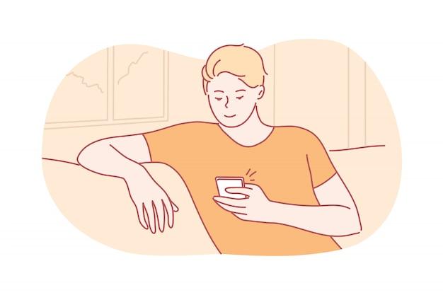 Карантин, отдых, шоппинг, общение, концепция коронавируса