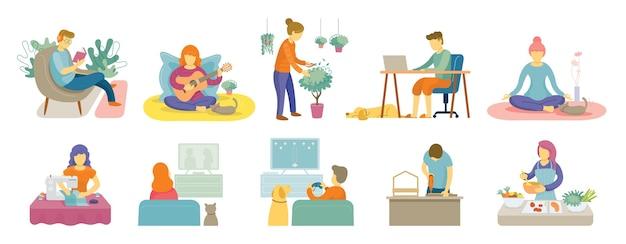 Карантин, активный отдых дома