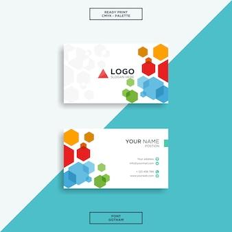 Qube business card colour