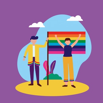 The queer community lgbtq design