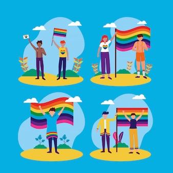 The queer community lgbtq design
