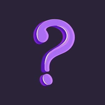 Question mark punctuation mark doubt writing letter conversation