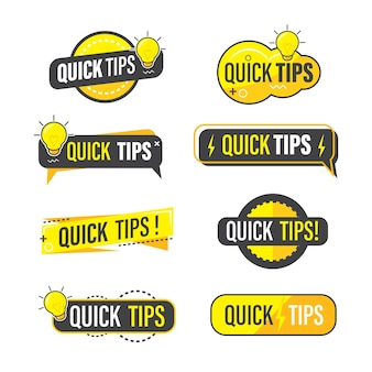 Quick tips collection