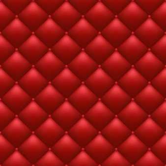 Quilted red background