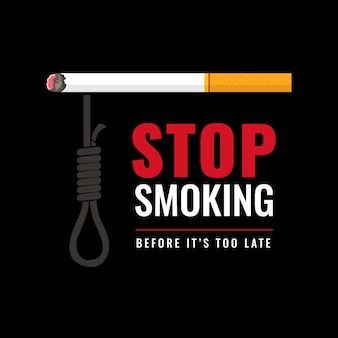 喫煙イラストをやめる