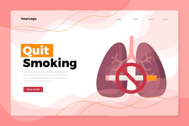 금연 방문 페이지