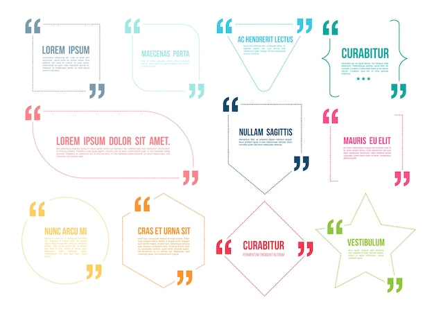 Quote color template