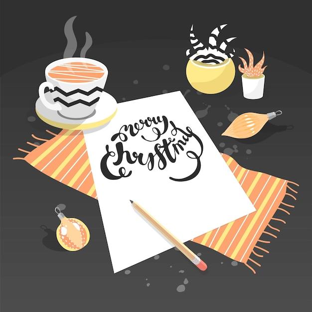 Цитата дорогой санта, я была хорошей девочкой в этом году рождественское письмо для завода игрушек «дерево санта-клауса»
