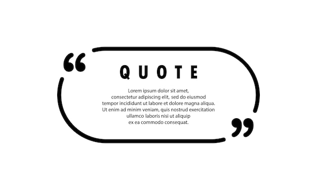 Quote icon. speech marks, inverted commas or talking mark collection. blank for your text. circle shape. vector eps 10. isolated on background.