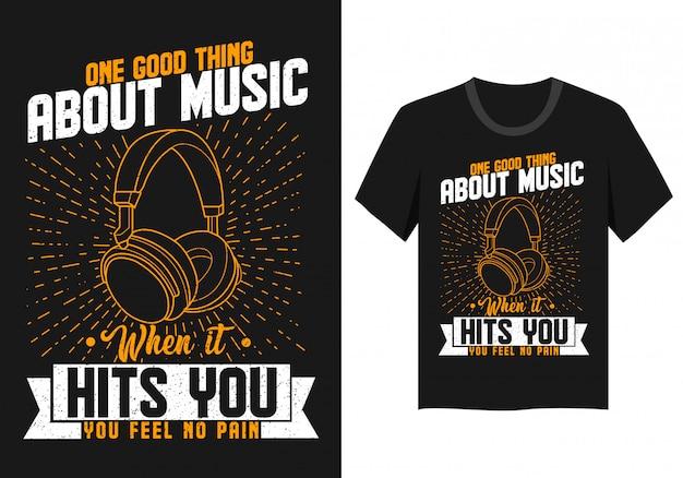 Quote music t shirt