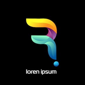 R logo concept