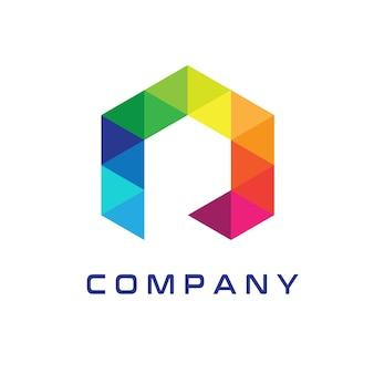 Современный дизайн логотипа r