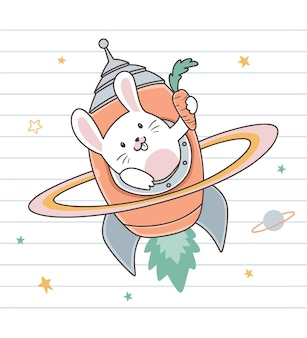 Кролик и морковная ракета
