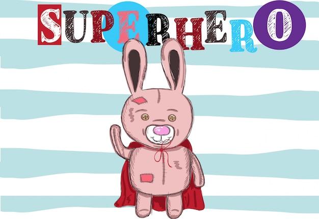 アパレルのためのウサギのイラスト