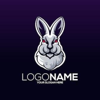 토끼 로고 디자인