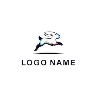 Логотип кролика для любой компании