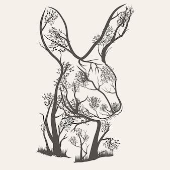 Rabbit trees